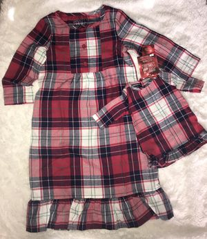 Toddler nightgowns with matching one for doll for Sale in Soledad, CA