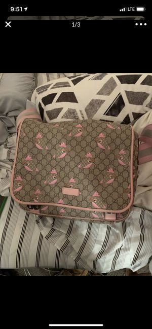 Gucci Diaper Bag (Very Hard To Find) for Sale in Beaumont, CA