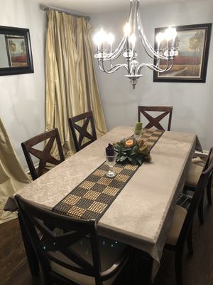 "72"" Dining Table Set (chairs included) for Sale in HOFFMAN EST, IL"