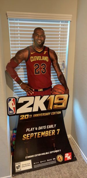 Lebron James 2k19 brand new for Sale in Canton, MA