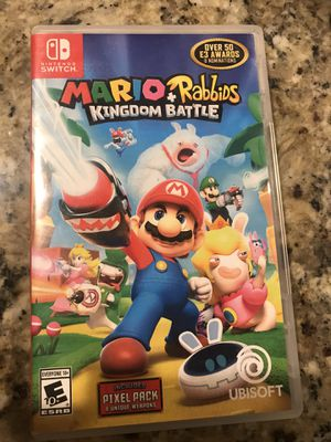 Super Mario Rabbits for Nintendo switch for Sale in Patterson, CA