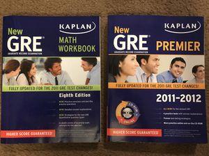 GRE books by Kaplan for Sale in Jonesboro, AR