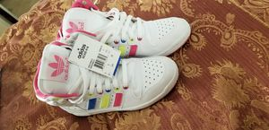 Womens Adidas size 6.5 tennis shoes for Sale in Fontana, CA