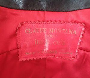 Claude Montana *Paris* leather jacket for Sale in San Francisco, CA