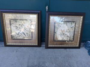 2 pictures 30 and 1/2 by 30 and 1/2 for Sale in Woodbridge, VA