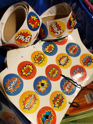 Stickers for superhero theme for Sale in Arcadia, CA