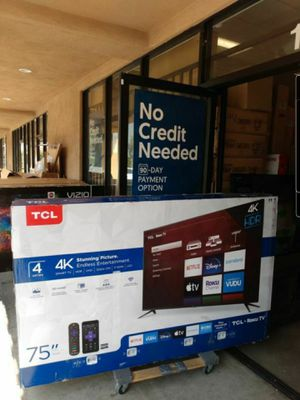 "TCL 75"" Smart 4K UHD HDR Roku TV for Sale in Hesperia, CA"