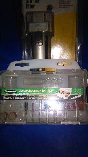 Drimel accessory kit/air compressor filter for Sale in Fresno, CA