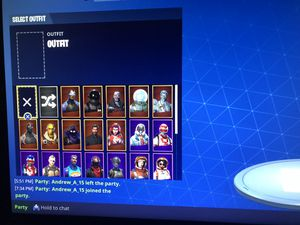 FORTNITE ACCOUNT PS4 *PRICE IS NEGOTIABLE* for Sale in Hesperia, CA