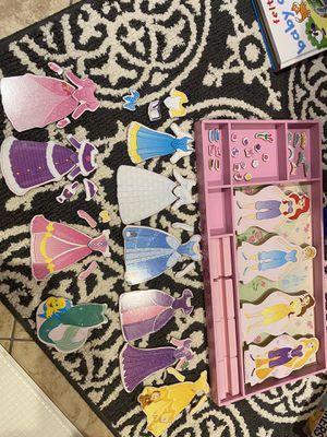 Melissa and Doug Disney princess magnet dress up set for Sale in Lake Worth, FL