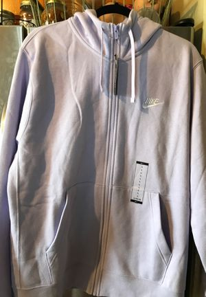 Nike Lavender Zip Up Hoodie (Large) for Sale in Los Angeles, CA