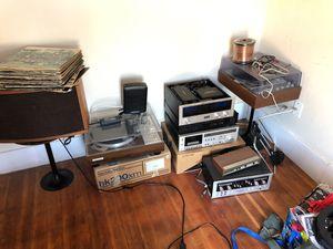 Marantz 510m amplifier and marantz 3800 console plus 4 Bose 901 and more for Sale in Phoenix, AZ
