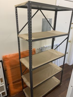Metal shelves for Sale in Bloomfield, NJ
