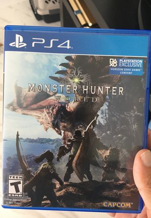 Monster hunter PS4 game for Sale in Miami, FL