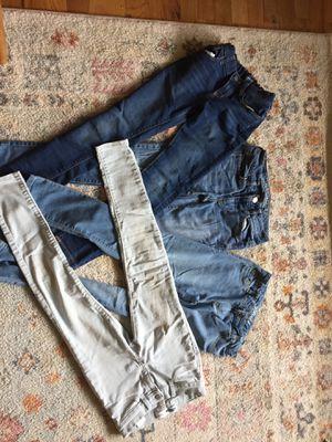 Lot girls jeans size 10,12,00 for Sale in Wenatchee, WA