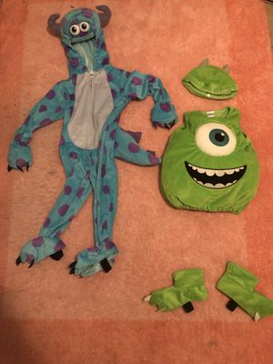 Monsters inc costumes for Sale in Gulf Breeze, FL