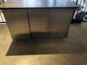 Stainless Steel Kitchen Island for Sale in Los Angeles, CA