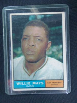 1961 Willie Mays Baseball card for Sale in Hamilton, OH