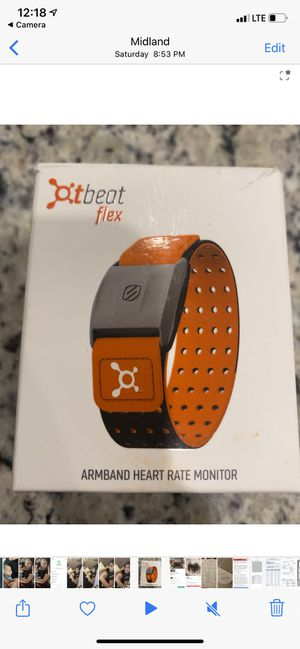 Orange Theory Armband Heart Rate Monitor for Sale in Odessa, TX