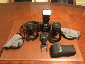 Canon 5D Mark II - 17-35 f1.8 L - 24-105 f4.0 L Speedlite 580 EX II for Sale in Scottsdale, AZ