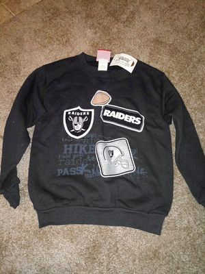 NFL Raiders tiddler sweatshirt - large for Sale in Pico Rivera, CA