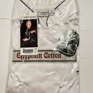 CHEF WORKS EGYPTIAN COTTON EXECUTIVE CHEF COAT for Sale in Hillsboro, OR