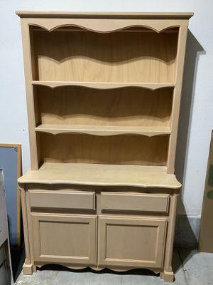 Dresser and display shelf for Sale in Irvine, CA