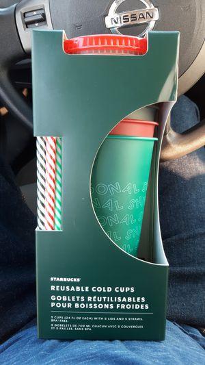 Starbucks cold cups for Sale in Harlingen, TX
