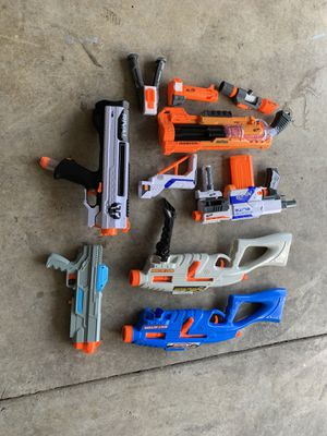 Nerf play guns used for Sale in Pataskala, OH