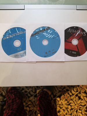 3 bluray movies for 8 dollars for Sale in Cleveland, OH