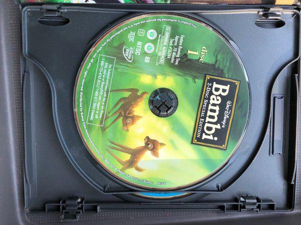 Bambi DVD 2-Disc Platinum Special Edition