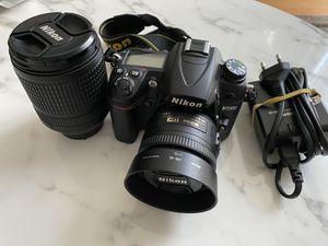 Nikon D7000 DSLR w/ two lens for Sale in Washington, DC