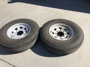Trailer tires and wheels for Sale in Phoenix, AZ