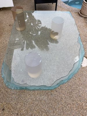 Custom glass coffee table for Sale in San Juan Capistrano, CA