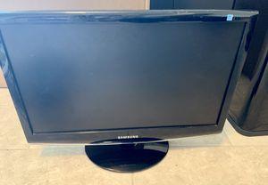 Samsung Flat Computer screen black desktop for Sale in Port St. Lucie, FL