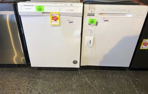 White Front Control Dishwashers $$ 82NM for Sale in Los Angeles, CA