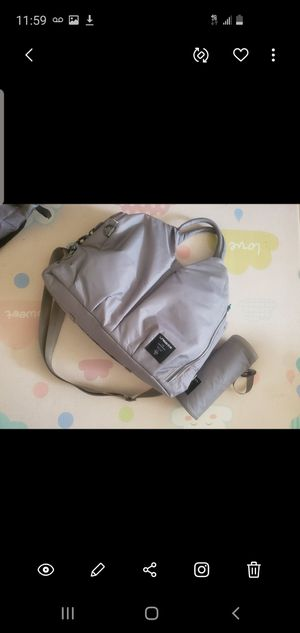 Lassig Diaper Bag with bottle cooler for Sale in New York, NY