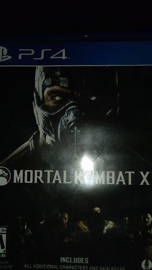 Mortal combat PS4 GAME for Sale in Riverside, CA