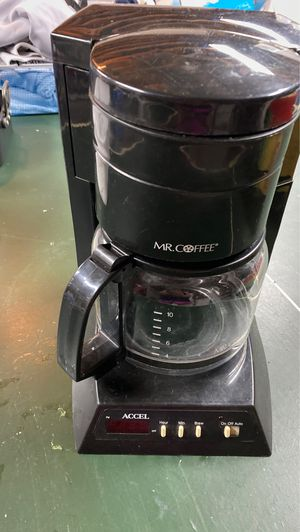 Mr Coffee 10 cup coffee pot for Sale in Seattle, WA