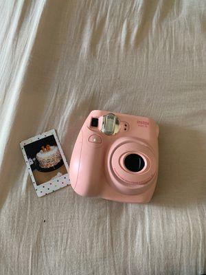 Fujifilm instax mini 7s pink for Sale in Grove City, OH