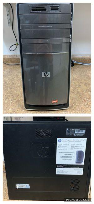 HP desctop. AMD Athlon II X4, 4gb RAM, 750gb HDD, Windows 10, wifi. for Sale in Fort Lauderdale, FL