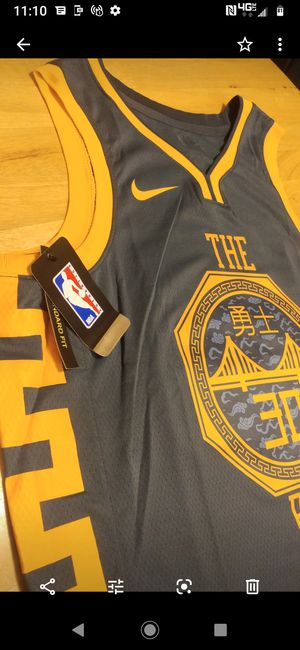 WARRIORS Nike City edition authentic game Jersey for Sale in Victorville, CA