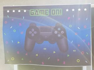 Game on backdrop for Sale in Corona, CA
