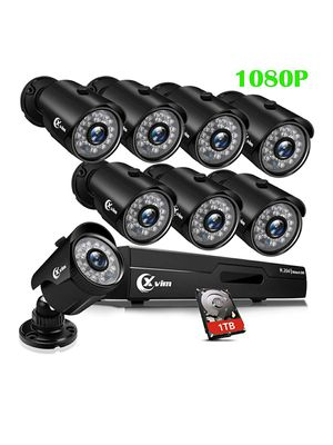 XVIM 8CH 1080P Security Camera System for Sale in Kansas City, MO