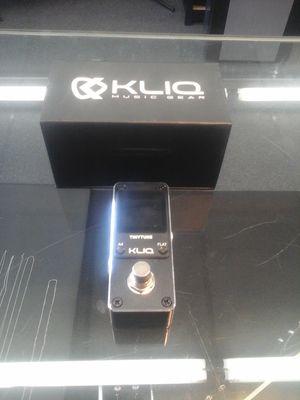 Kliq Tiny Tune pedal tuner for Sale in Charlotte, NC