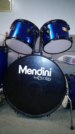 Blue Mendini Drum Set for Sale in Bluffdale, UT