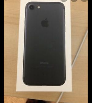 iPhone 7 (black) perfect condition, recently purchased. Has rarely been used. for Sale in Greenville, NC