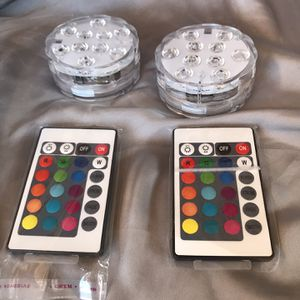 2 Sets Of Submersible LED Lights for Sale in Whittier, CA