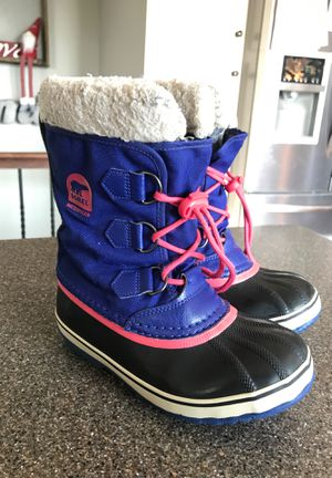 Sorel Youth Boots Size 2 for Sale in Spokane Valley, WA