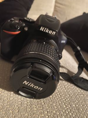 Nikon D3500 with 3 lenses for Sale in Anaheim, CA